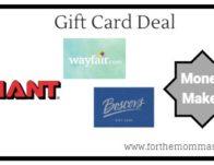 Giant: Gift Card Moneymaker Deals Starting 12/6!</body></html>