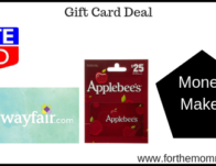 Moneymaker Gift Card Deals Starting 5/26