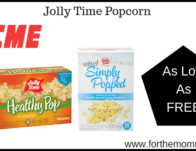 Jolly Time Popcorn As Low As FREE Thru 5/23!