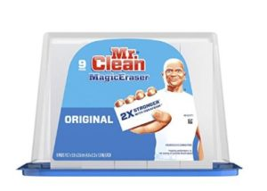 image regarding Mr Clean Coupons Printable referred to as Mr. Refreshing Magic Eraser 9ct Basically $4.99 Transported upon Amazon