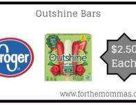 Outshine Bars ONLY $2.50 {Reg $4.99}