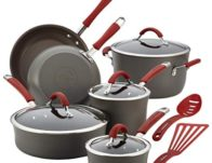 Rachael Ray 12-Piece Cookware Set $135.99 (Reg. $360)
