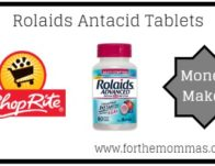 FREE Rolaids Antacid Tablets + Moneymaker Thru 5/22!