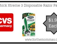 CVS: Schick Xtreme 3 Disposable Razor Packs ON</body></html>