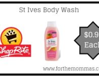 St Ives Body Wash JUST $0.99 Each Starting 9/22!