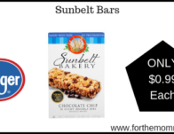 Sunbelt Bars ONLY $0.99 {Reg $2.69}