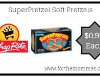 ShopRite: SuperPretzel Soft Pretzels Only $0.99 Each Thru</body></html>
