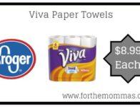 Viva Paper Towels ONLY $8.99 {Reg $10.49}