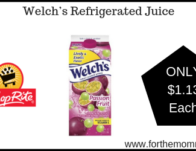 ShopRite: Welch's Refrigerated Juice Just $1.13 Each Starting 5/26!