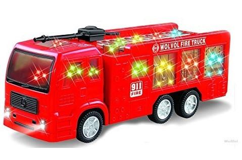 WolVol Electric Fire Truck $14.99 {Reg $30}