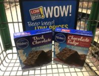 Giant: Pillsbury Brownie Mix ONLY $0.50 Each Starting 6/21!
