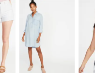 50% Off All Shorts, Tees and Dresses