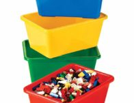 Tot Tutors Kids' Primary Colors Small Storage Bins ONLY $8.79 (Reg $20)