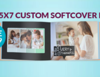 FREE 5×7 Photo Book (Save $12.99)