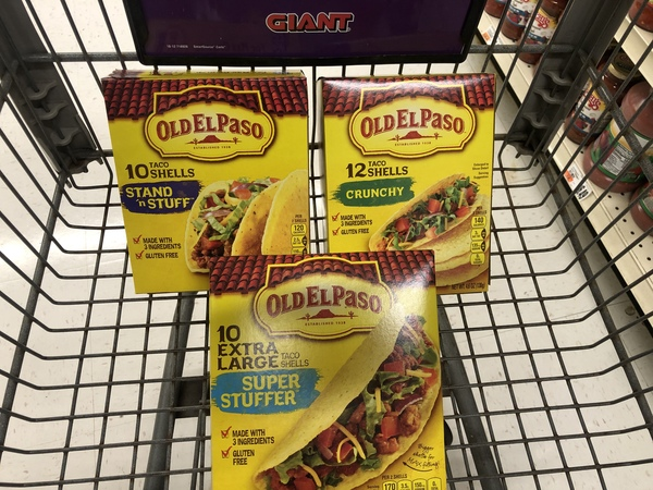 Giant: Old El Paso Taco Shells ONLY $0.25 Each Products Starting 6/14!
