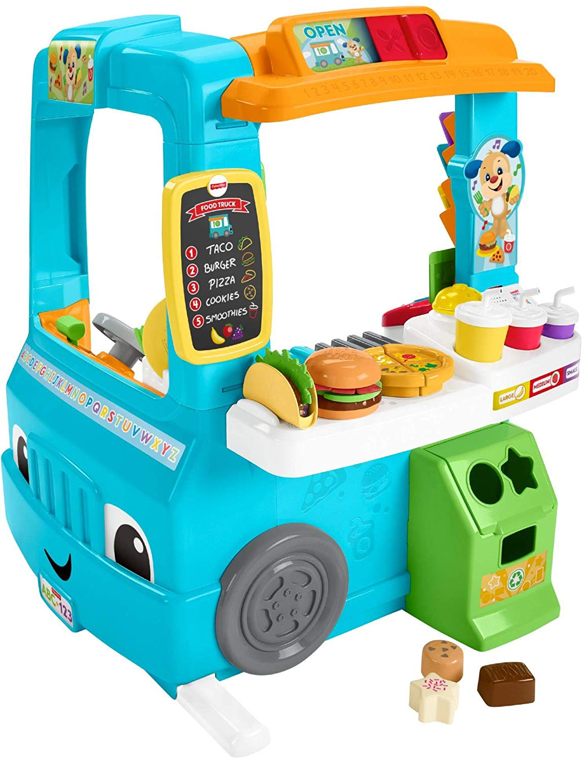 Fisher-Price Laugh & Learn Servin' Up Fun Food Truck ONLY ...