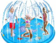 68″ Inflatable Water Sprinkler Pad & Sprinkle Play Mat $19.99 {Reg $44.99}