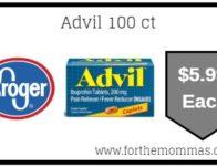 Kroger: Advil ONLY $5.99 (Reg $8.79)