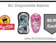 Bic Disposable Razors Just $0.99 Starting 6/16!