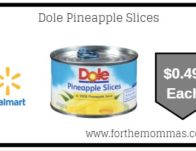 Dole Pineapple Slices $0.49