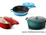 Save up to 46% on Enameled Cast Iron Cookware from Cuisinartat Amazon