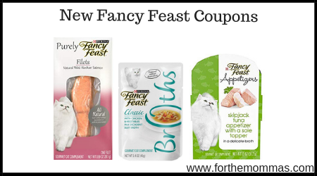 graphic about Fancy Feast Printable Coupons named Refreshing Extravagant Feast Discount coupons Help save Up In the direction of $4.00 - FTM