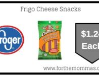 Kroger Mega Sale: Frigo Cheese Snacks ONLY $1.24 {Reg $4.99}