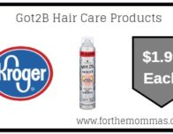 Got2B Hair Care Products ONLY 1.99 {Reg $6.99}