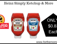 Heinz Simply Ketchup & More ONLY $0.83 Each Thru 6/22!