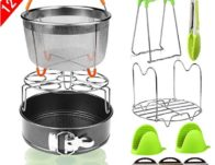 12 Pieces Pressure Cooker Accessories Set Compatible with Instant Pot 6,8 Qt $19.99 + Free Shipping