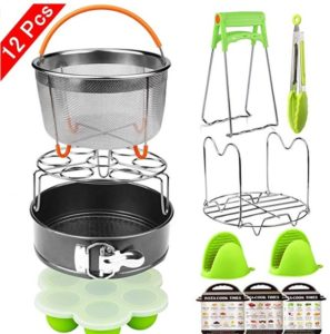 12 Pieces Pressure Cooker Accessories Set Compatible with