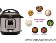Instant Pot DUO60 6 Qt 7-in-1 Multi-Use Programmable Pressure Cooker $59.95 {Reg $100}