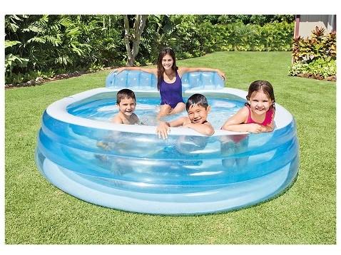 Target: Intex Swim Center Inflatable Family Lounge Pool $21 (Reg $30 ...