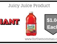 Giant: Juicy Juice Product Just $1.04 Each Starting 6/21!