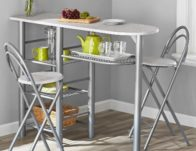 Mainstays 3-Piece Dining Set $35.60 Shipped (Reg $119)