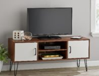 Mainstays Mid-Century Two-Tone TV Stand $49.97 (Reg $99)