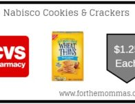 Nabisco Cookies & Crackers As Low As $1.25 Each Starting 6/30