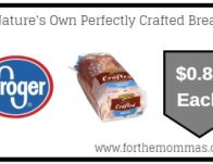 Kroger: Nature's Own Perfectly Crafted Bread ONLY $0.84 {Reg $3.69}