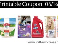 Newest Printable Coupons 06/16: Save On Galbani, Resolve, Purina &am</body></html>
