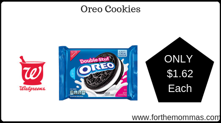 photograph regarding Oreo Printable Coupons titled Walgreens: Oreo Cookies Simply $1.62 Just about every Starting up 6/16 - FTM