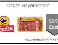 Oscar Mayer Bacon ONLY $2.99 Starting 8/25!