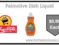 ShopRite: Palmolive Dish Liquid ONLY $0.99 Each Starting 6/16!