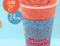 Free Smoothie at Planet Smoothie