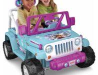 Power Wheels Disney Frozen Jeep Ride-On Toy $199 Shipped (Reg $300)
