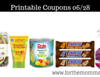 Printable Coupons Roundup 06/28: Save On DOLE, Clorox, Alba Botanica & More
