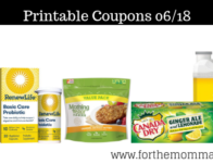 Newest Printable Coupons 06/18: Save On Canada Dry, SlimFast, Cetaphil & More
