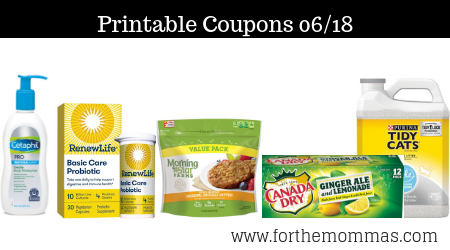 picture about Slim Fast Coupons Printable referred to as Printable Discount coupons Roundup 06/18: Help you save Upon Canada Dry
