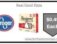 Kroger: Real Good Pizza ONLY $0.49 {Reg $6.99}
