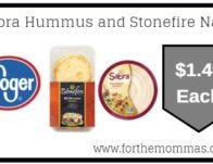 Sabra Hummus and Stonefire Naan ONLY $1.49 {Reg $3.99}