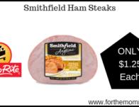Smithfield Ham Steaks Just $1.25 Each Starting 6/28!